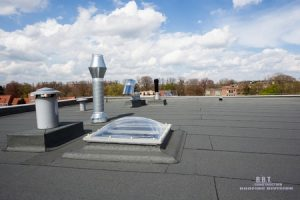 Common Flat Roof Problems R B T Roofing Division In